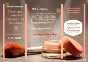 Supports de communication AnimationSoin